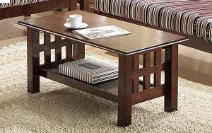 Wood kitchen table - a fine option for placing in your dining space